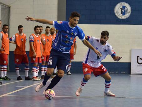 Taubaté faz dever de casa e vence Mogi das Cruzes na Copa Paulista de Futsal