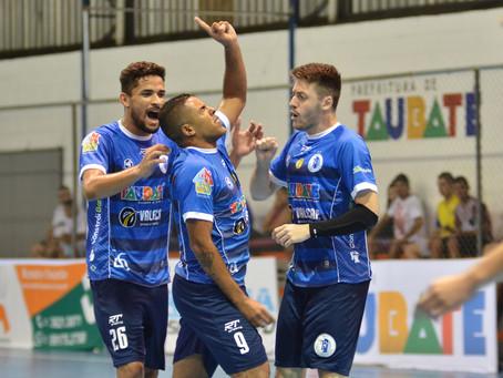 Taubaté bate FIB Bauru e segue invicto na Copa Paulista de Futsal