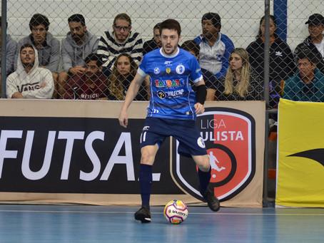 Taubaté Futsal enfrenta Pulo do Gato nesta quinta em Campinas
