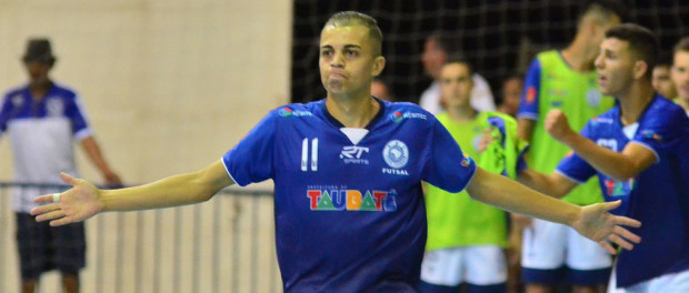 O ala Gui marcou o gol de empate faltando 16 segundos para o fim do jogo (foto: Jonas Barbetta/ Top 10 Comunicação)