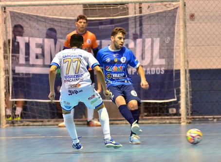 Tudo igual no jogo de ida entre Taubaté e Intelli nas oitavas da Liga Paulista