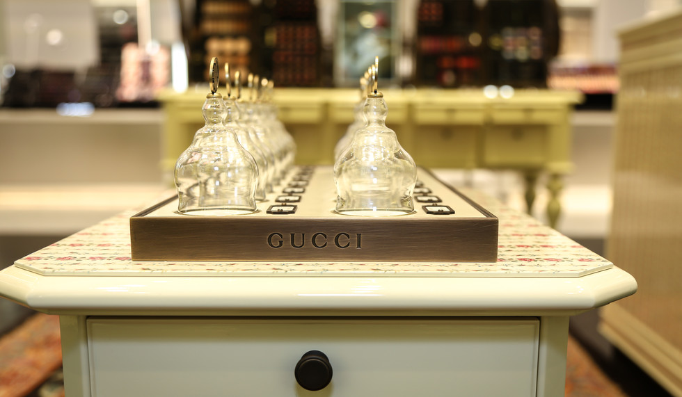 Gucci Alchemist new collection, Saks 5th Ave