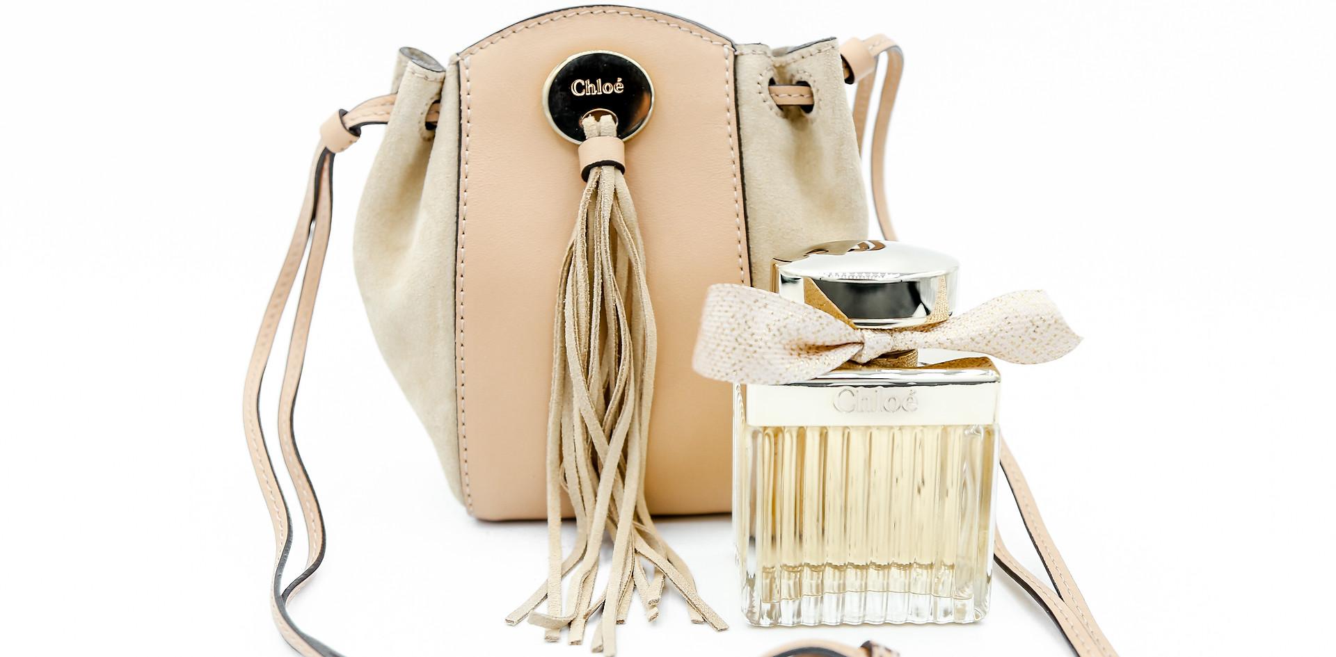 Chloe handbag + fragrance