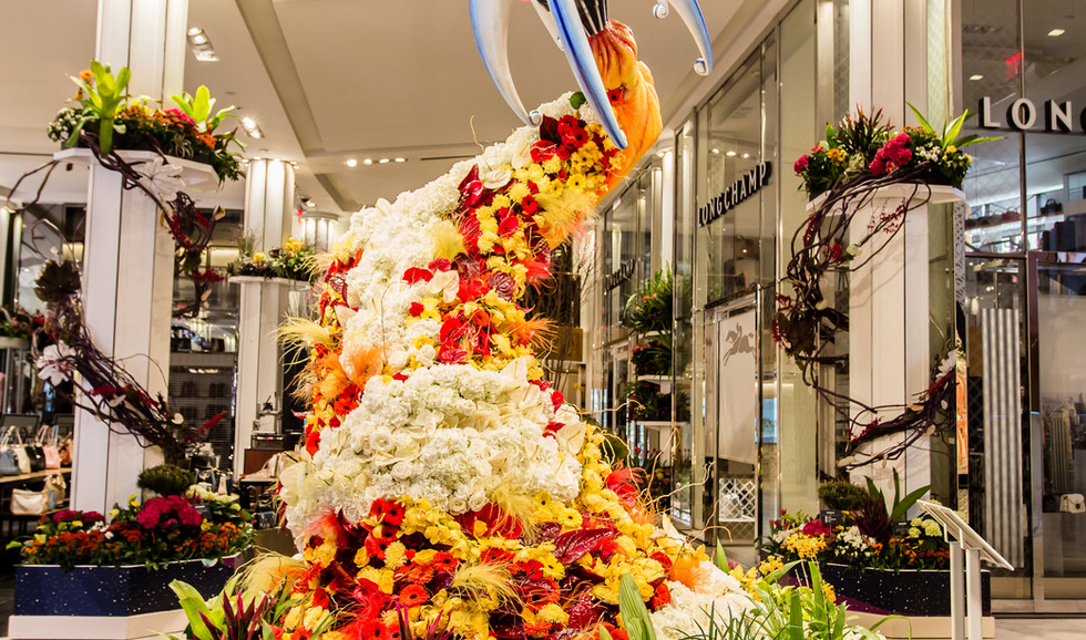 Macy's HSQ Flower Show 2019
