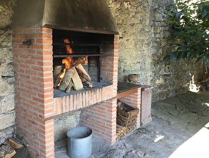 Barbacoa - Casa Rural - Vacaciones rurales - Basieda - Lomeña - Liébana - Picos de Europa - Cantabria