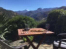 stunning view from your accommodatin in the Picos de Europa