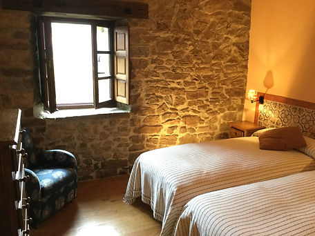 Olmares apartmen bedroom in the Picos de Europa