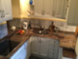 Olmares apartmen kitchen in the Pico de Europa