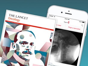 """The Lancet Oncology says Figure 1 is """"meeting junior oncologists where they are: on their phones"""""""