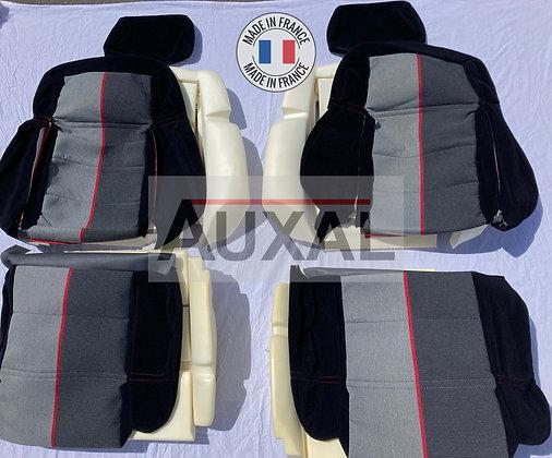 Pack complet interieur siege avant garniture 205 GTI RAMIER tissus seat cover