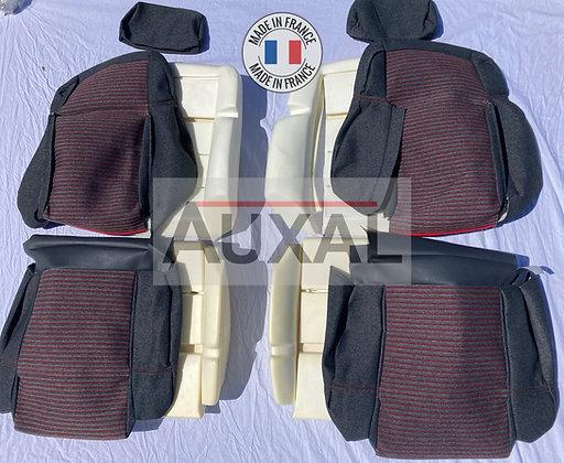 Pack complet sellerie avant garniture mousse 205 GTI MONACO seat cover interior