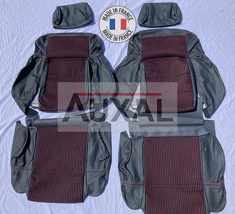 Interieur siege sieges avant garniture 205 GTI QUARTET cuir seat cover interior