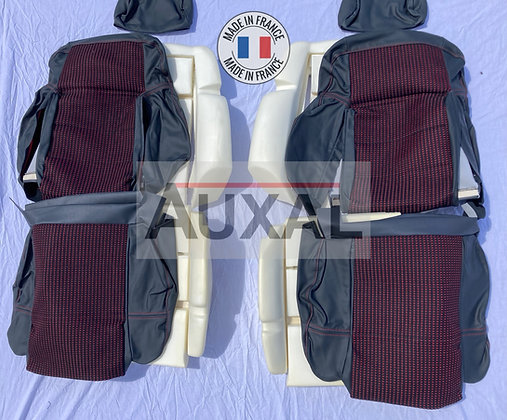 Pack complet interieur siege avant garniture 205 GTI QUARTET cuir seat cover