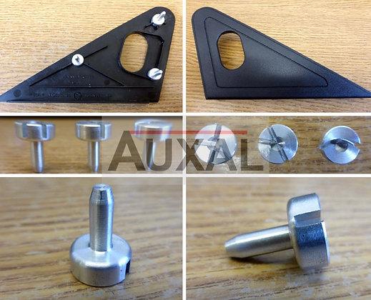 Reparation cache retroviseur Peugeot 205 GTI interior mirror wing repair kit