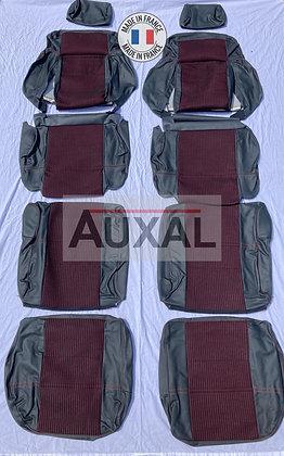 Interieur siege sieges garniture 205 GTI QUARTET cuir seat cover interior