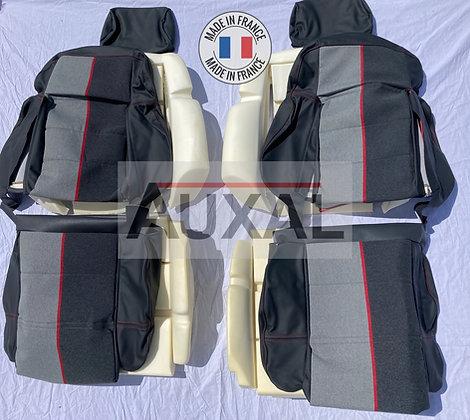 Pack complet interieur siege avant garniture 205 GTI RAMIER cuir seat cover