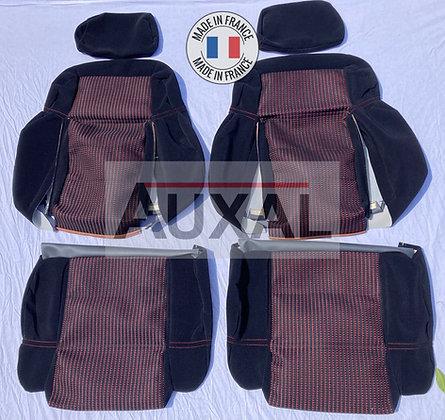 Interieur siege sieges avant garniture 205 GTI QUARTET tissus seat cover