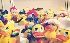 Lanco Toys ducks collection exposed at Nurnberg 2015 fair.