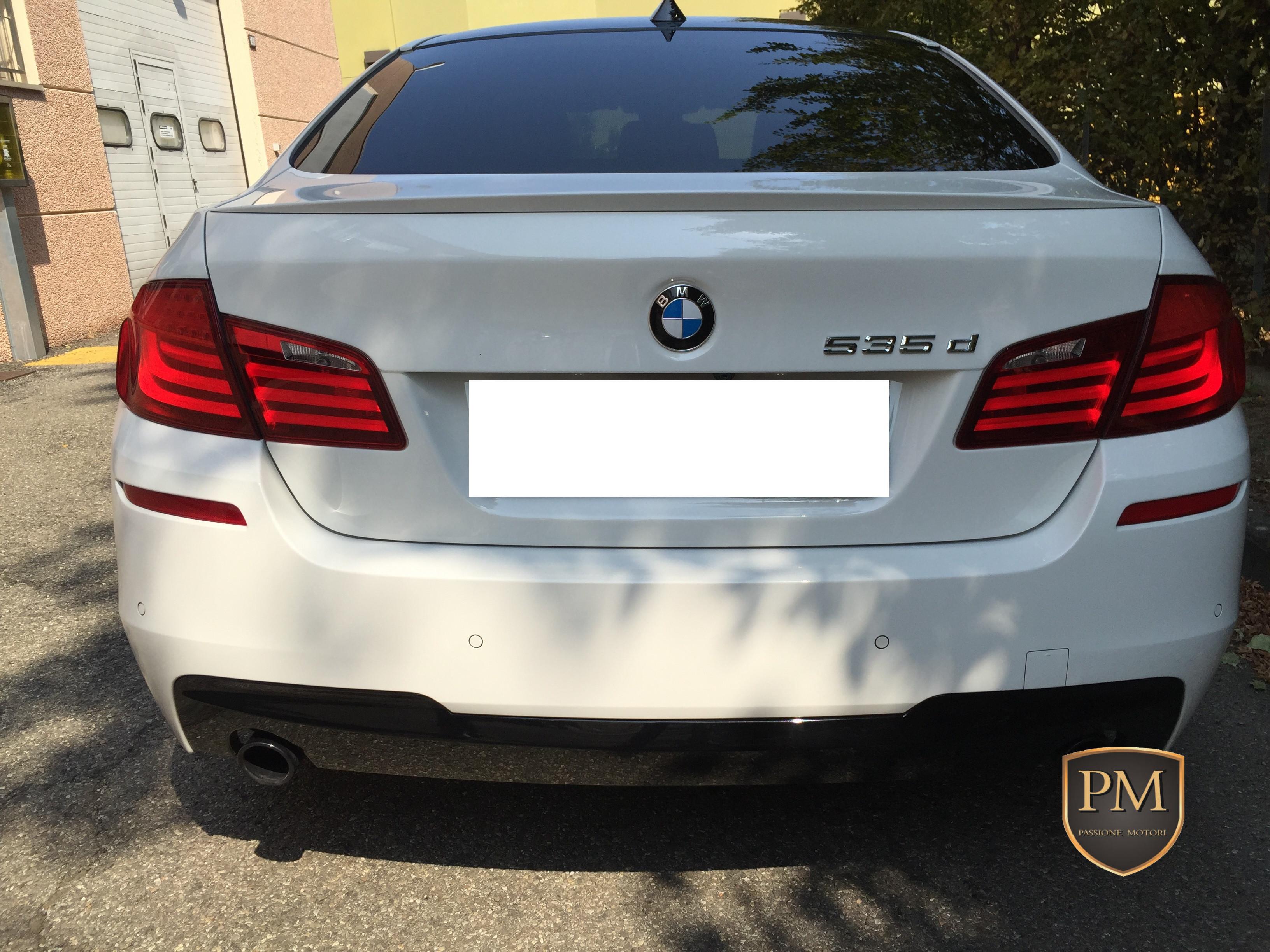 BMW 535d M SPORT BIANCA 2