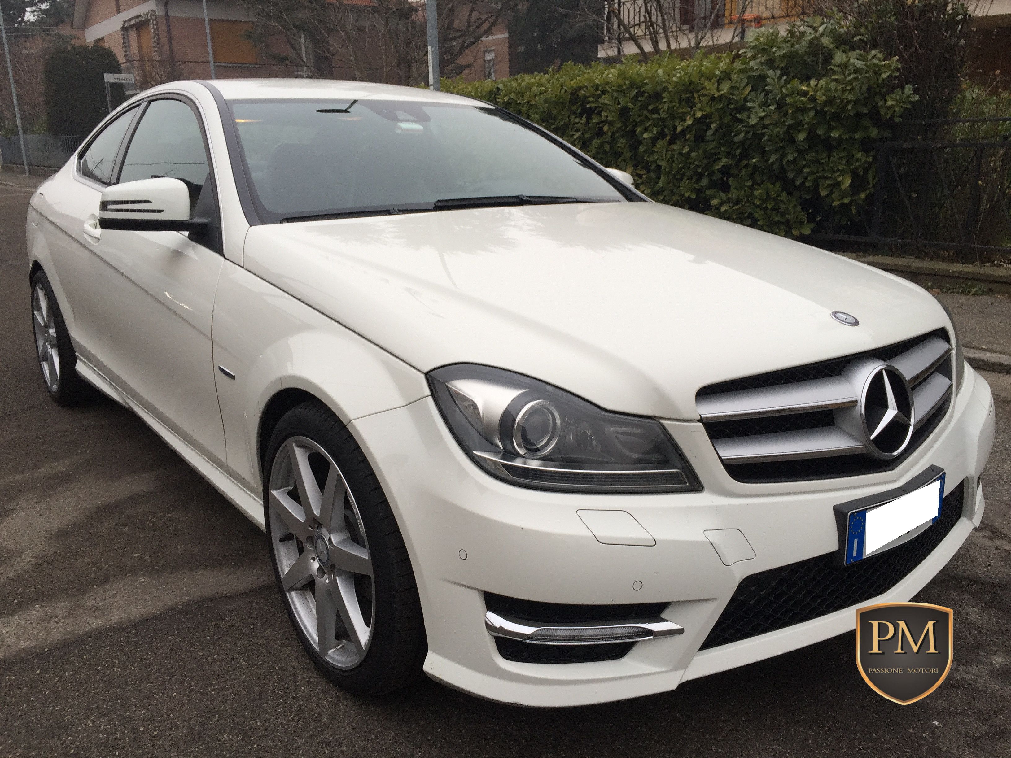 C 250 COUPE' BIANCA