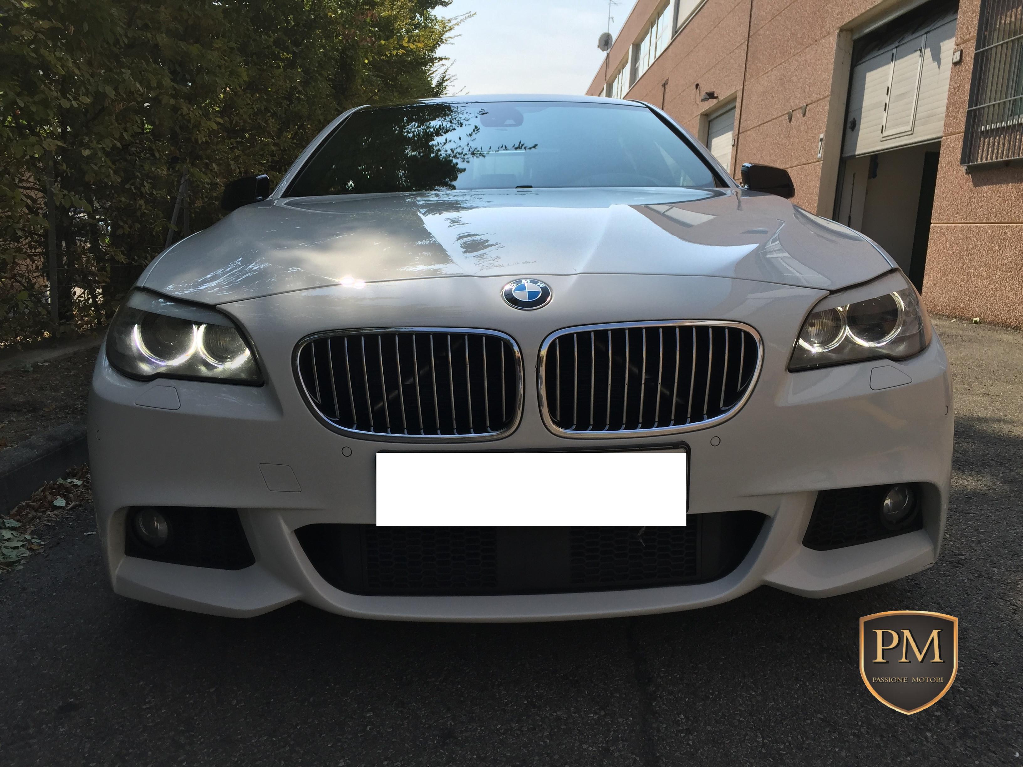 BMW 535d M SPORT BIANCA 1