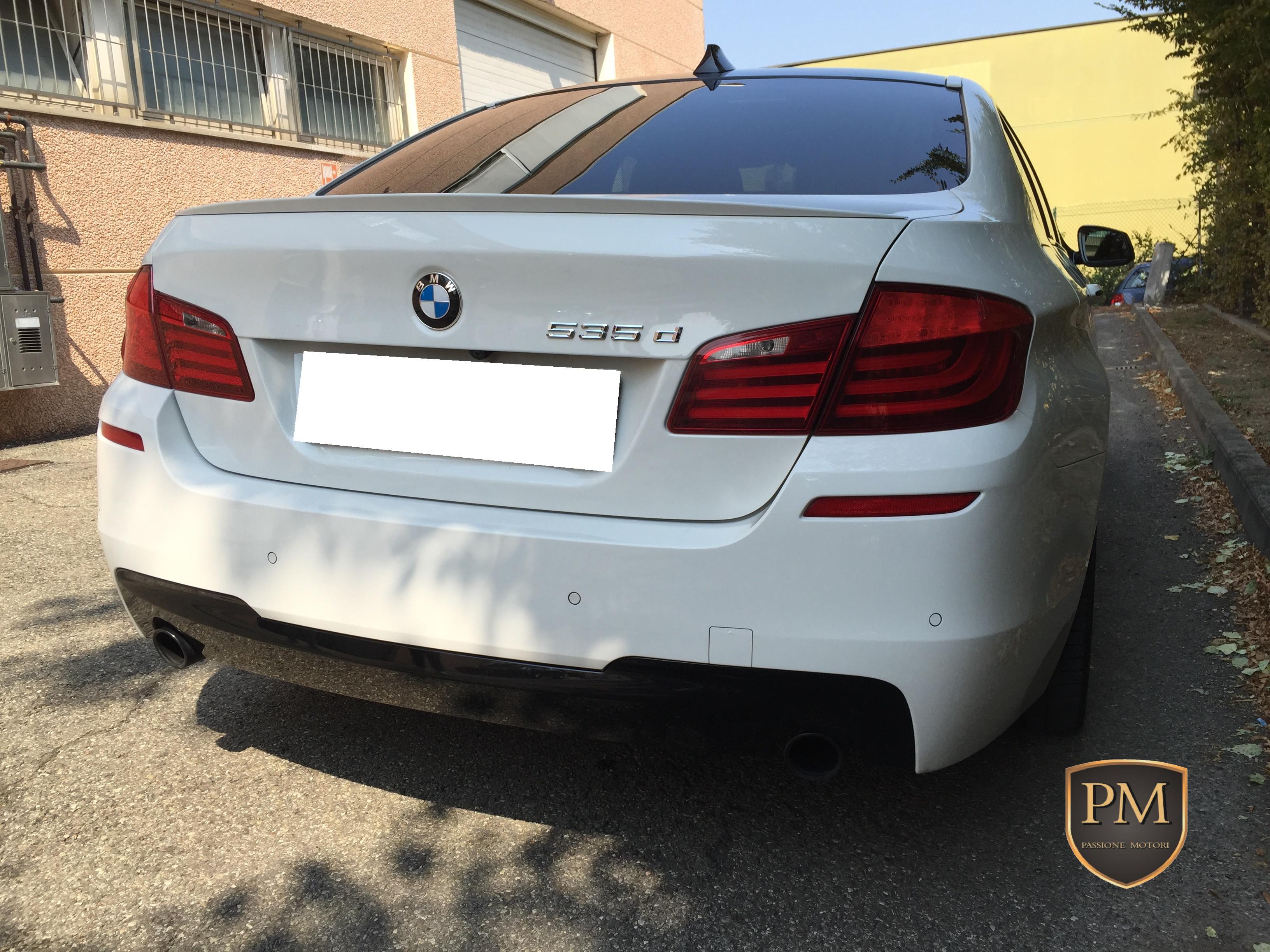 BMW 535d M SPORT BIANCA 3