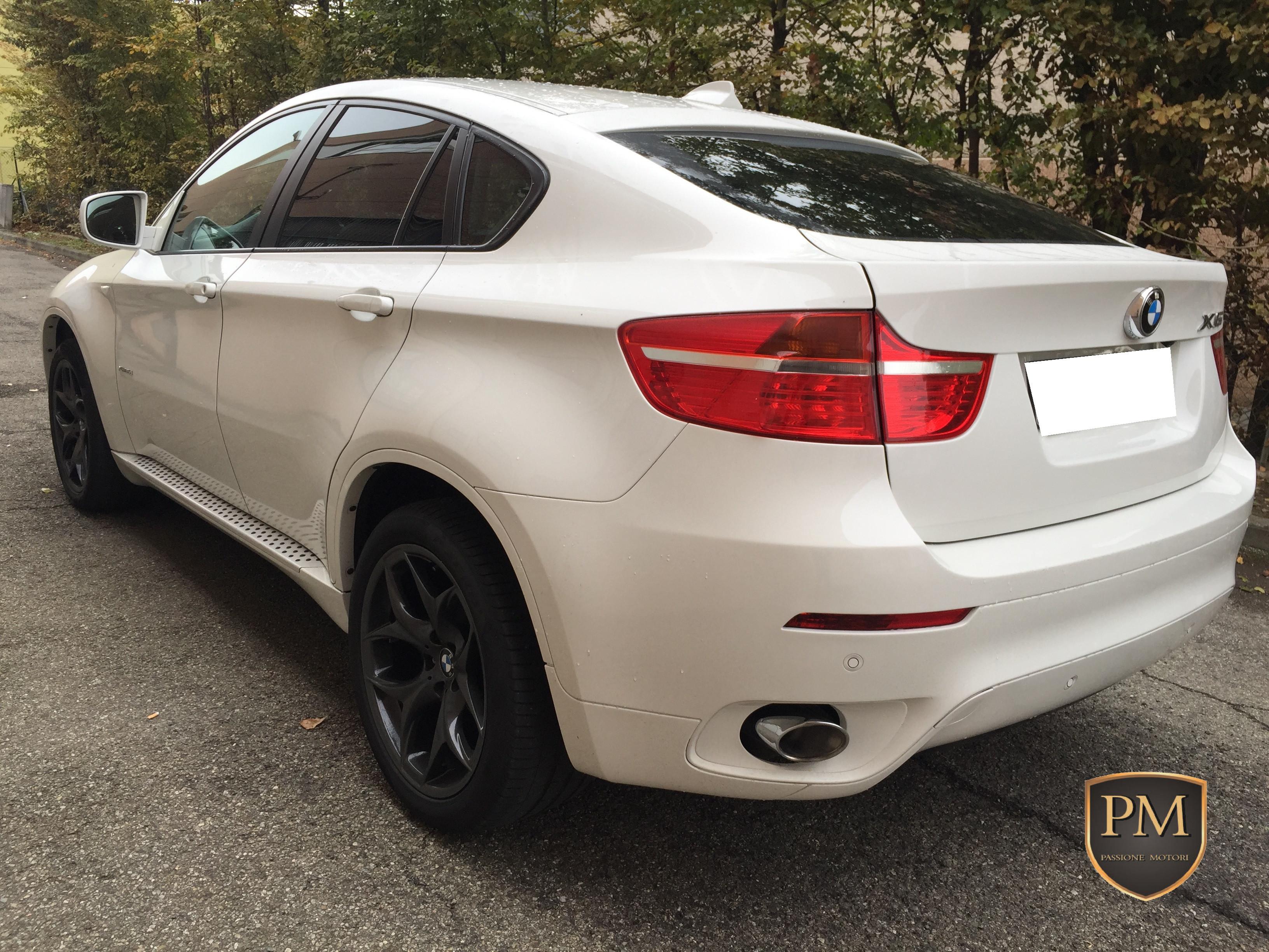 BMW X6 BIANCA 1