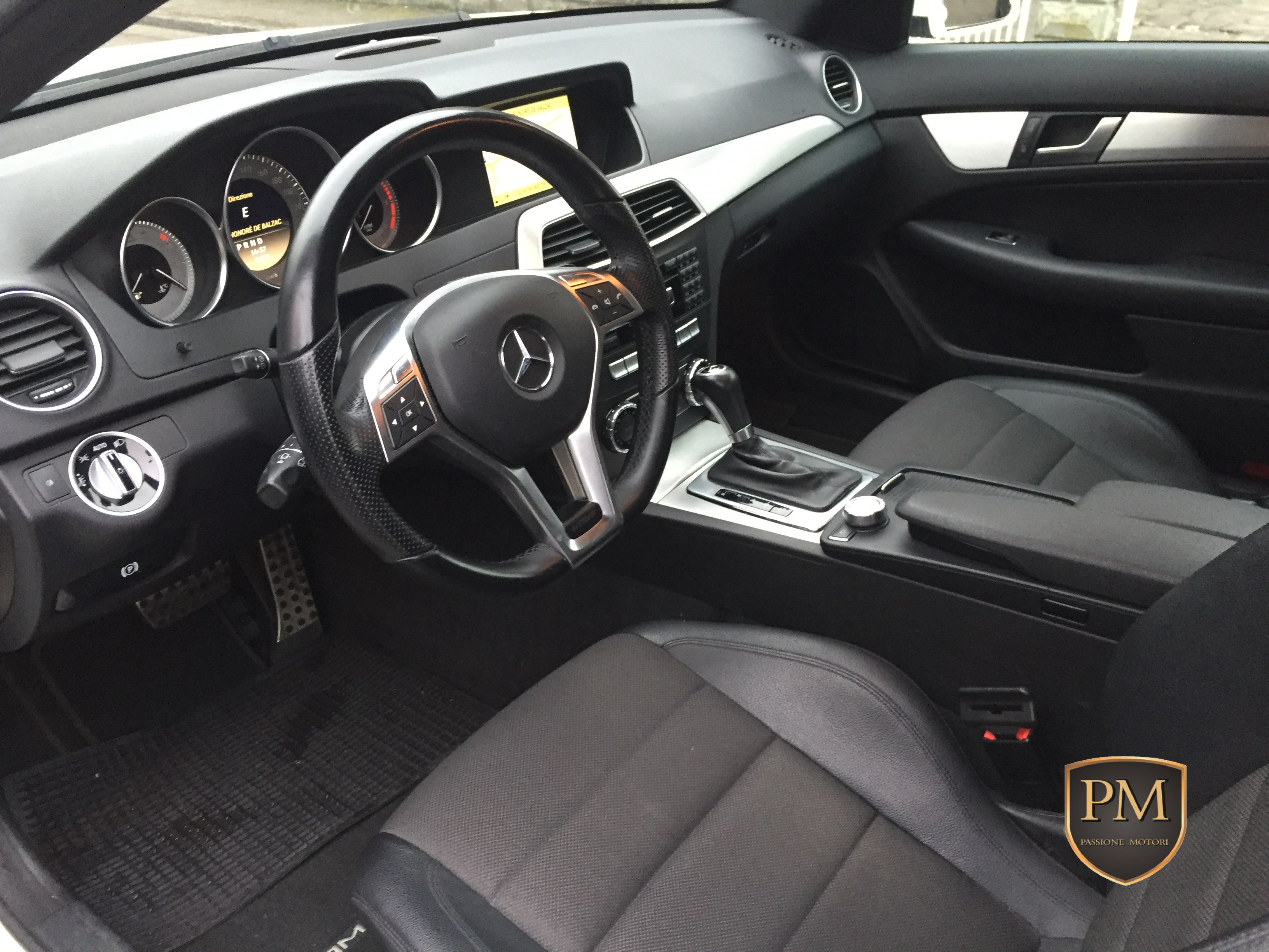 C 250 COUPE' BIANCA 4
