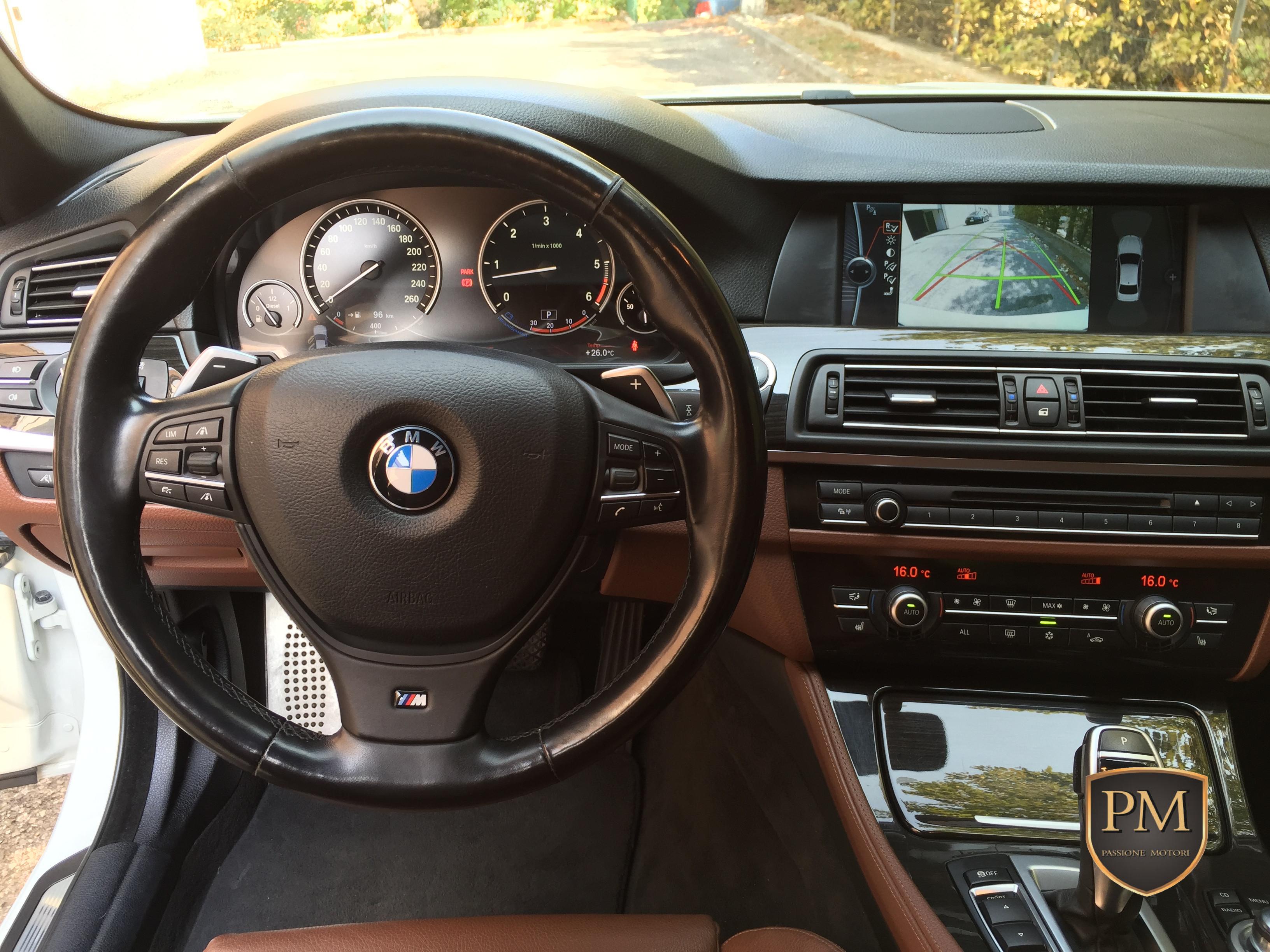 BMW 535d M SPORT BIANCA 6