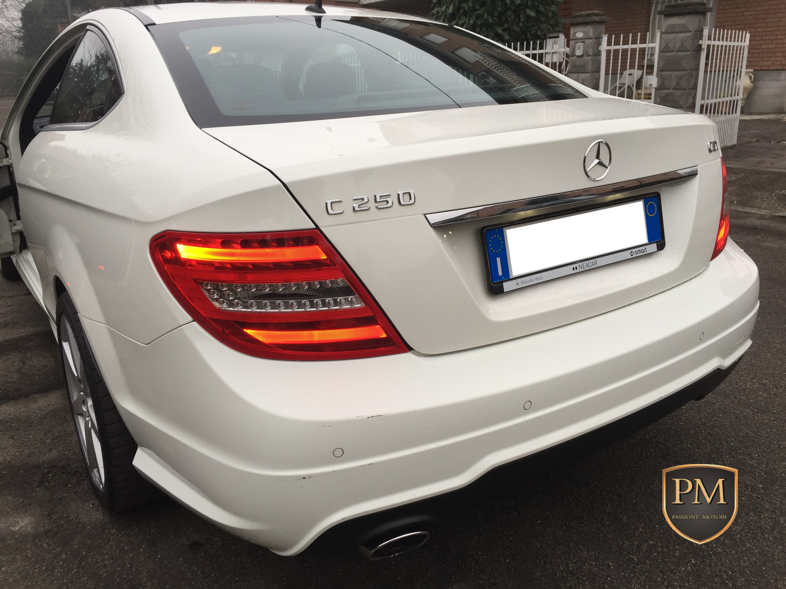 C 250 COUPE' BIANCA 2