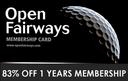 Open Fairways - 83% Off