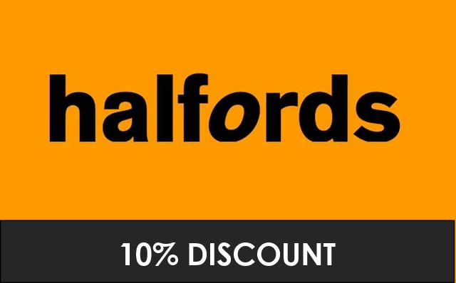 Halfords - 10% Discount