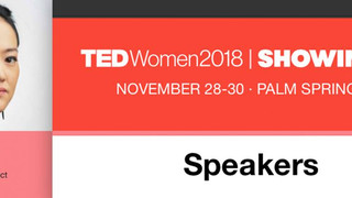 TED WOMAN 2018 l Showing Up at Palm Spring