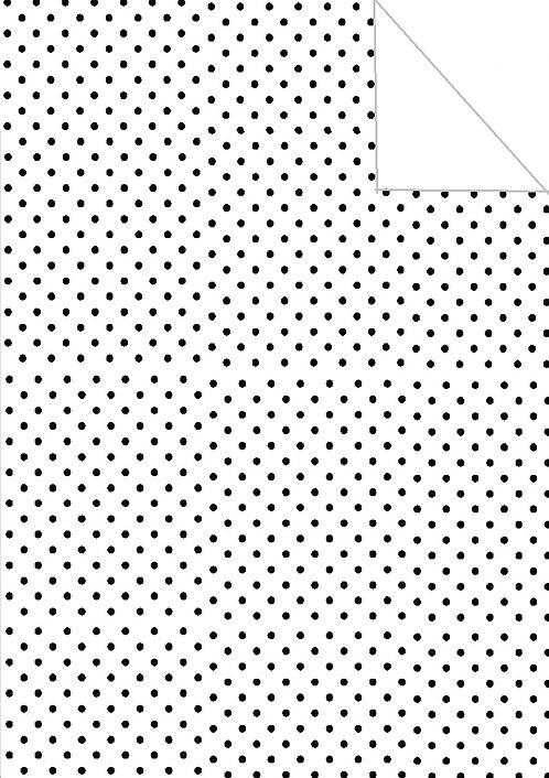 Polka dot- black & white
