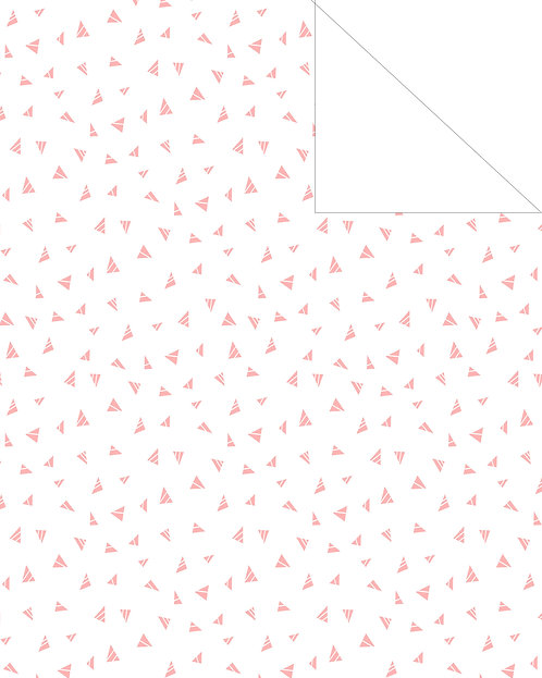 Triangles- Pink