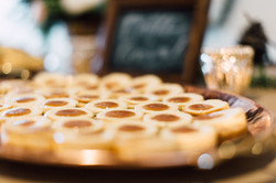 Mini salted caramel cheesecake