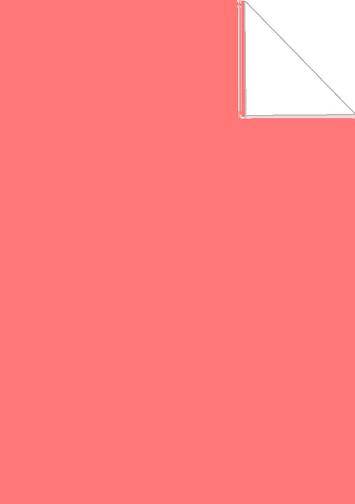 wafer paper- coral