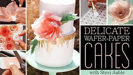 wafer paper flowers craftsy
