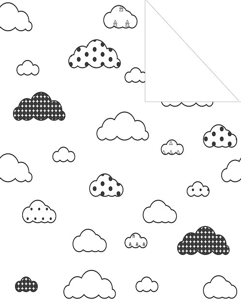 Clouds- black & white