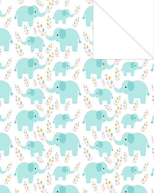 Elephant- Blue