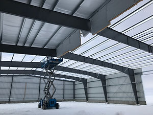 Pre-Engineered Metal Building constructi