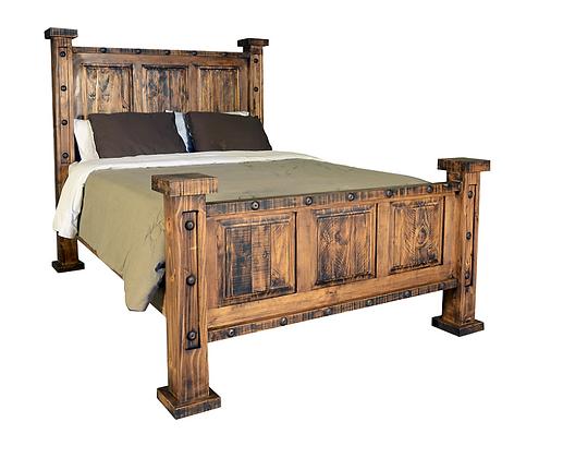 Ponderosa King Bedroom Set W/ 8 Drawer Dresser