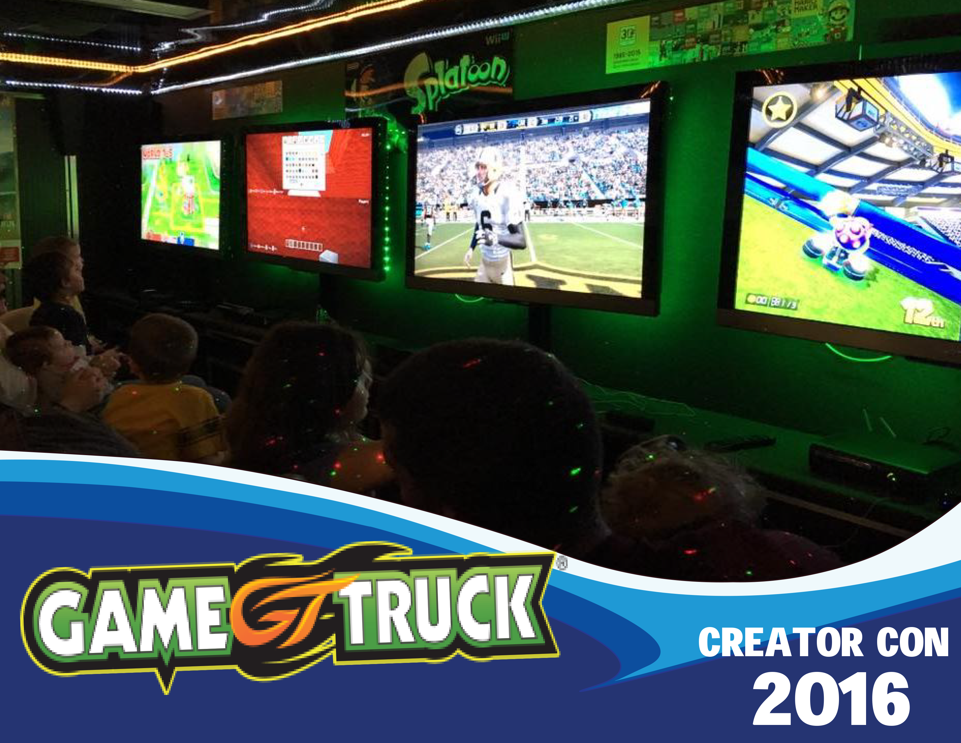 Game Truck Banner
