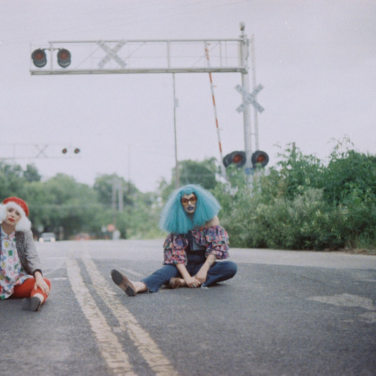 Portrait of the Artist as a Young Clown with Payasa