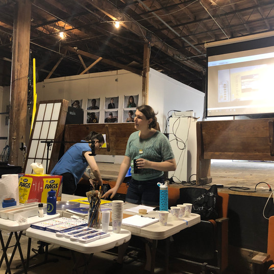 Tapping Into Hidden Naratives - A Painting Workshop with Drew Riley