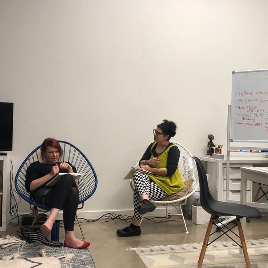 Collaborative Zinemaking with Niku Arbabi