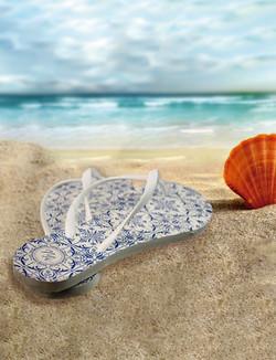 Chinelo na Praia CMYK