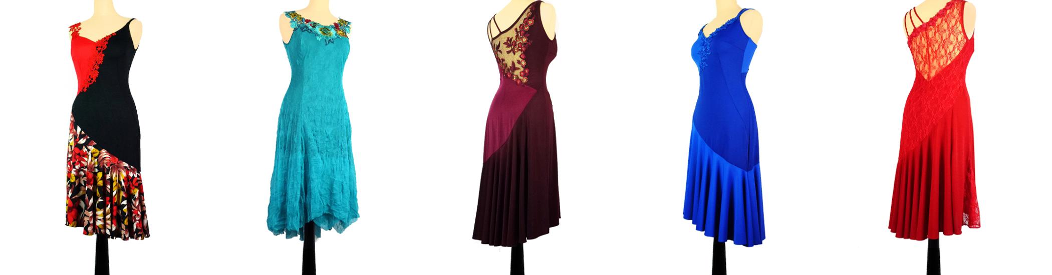 Robes de tango de danse Iryna