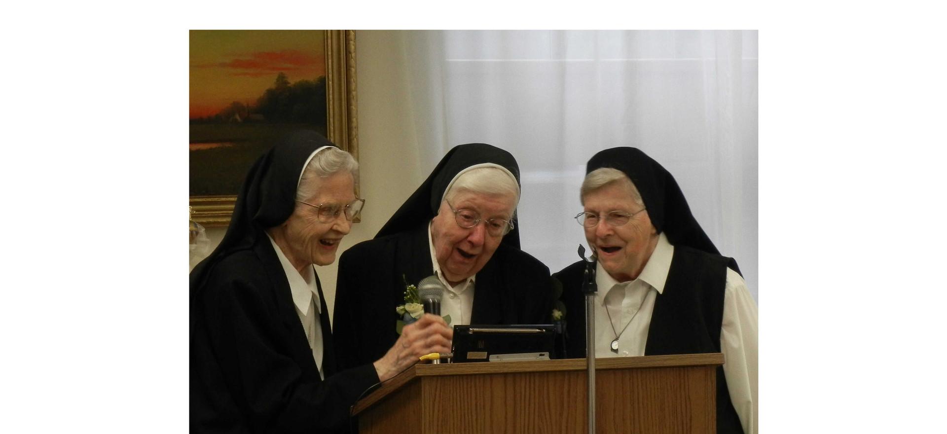 Karaoke Night in the convent