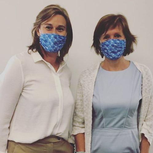BlauwKonijn® op hol - mondmasker